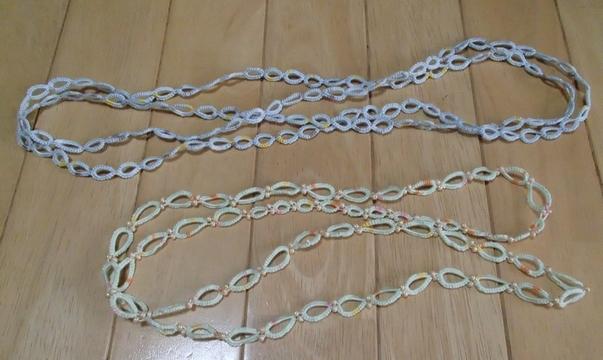 スプリットリングのネックレス