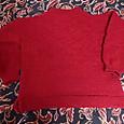 赤いセーター (編みなおし)