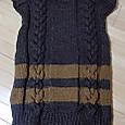 三つ編み模様のチュニック