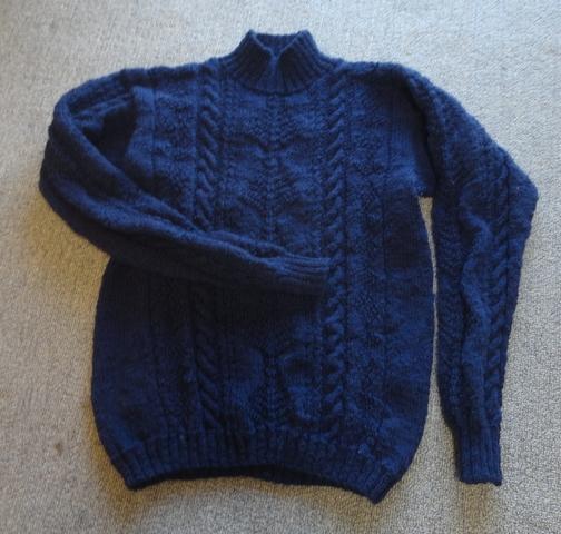海の男のセーター