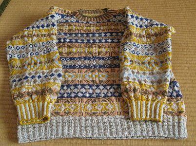 フェアアイルのセーター 8
