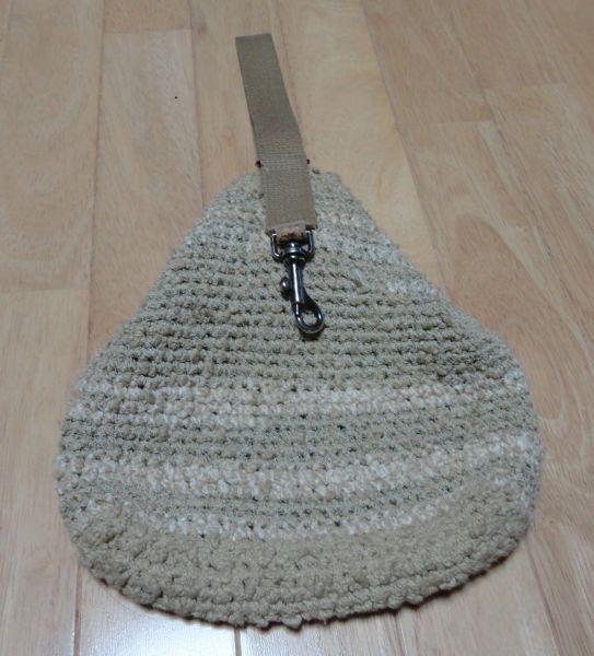 鈎針編みのミニバック