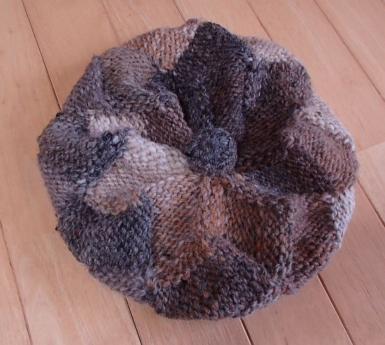 白樺編みの帽子