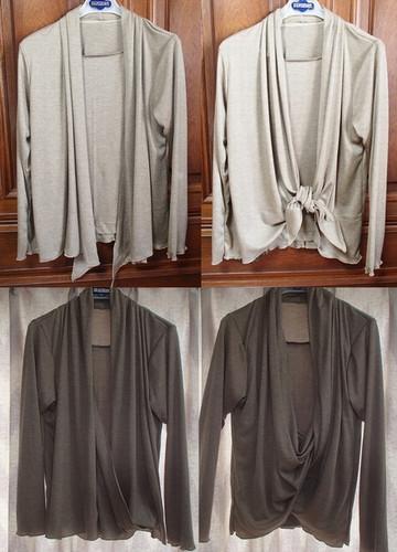 アンサンブル風Tシャツ