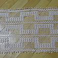 玉編みのテーブルセンター