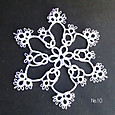 雪の結晶 10 Ⅱ