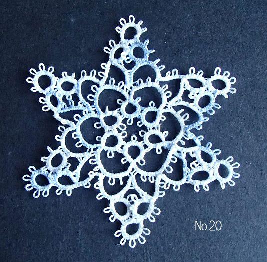 雪の結晶 20