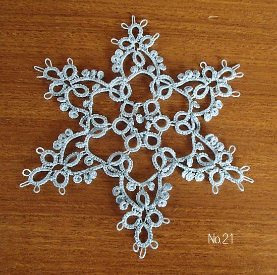 雪の結晶 21