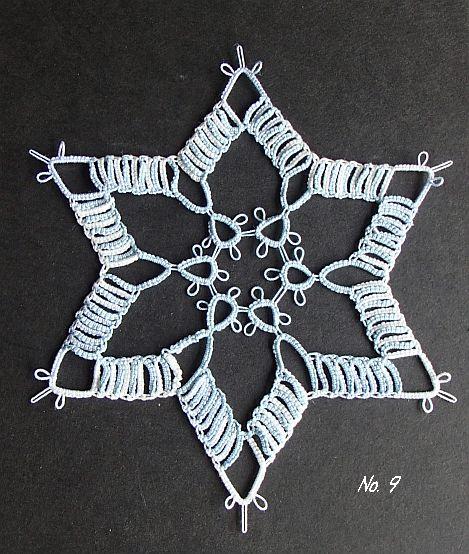 雪の結晶 9 Ⅲ