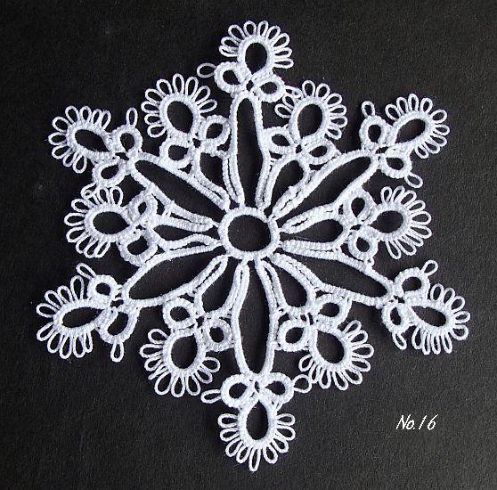 雪の結晶 16 Ⅱ